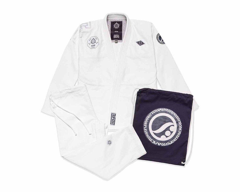 super popular e759f 8f69e Shoygoldll Maze White Batch 80 Brand New gi kimono bjj