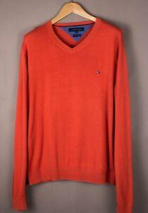TOMMY-HILFIGER-Men-Premium-Cotton-Knit-Jumper-Sweater-Size-2XL-XXL-ATZ1098
