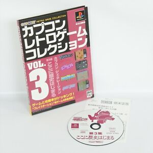CAPCOM-RETRO-GAME-COLLECTION-Vol-3-PS1-Playstation-For-JP-System-1897-p1