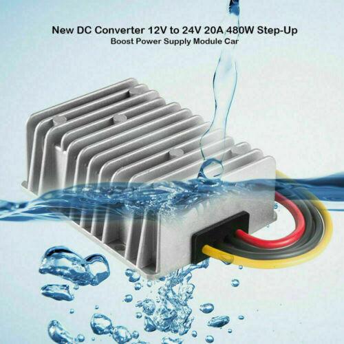 Auto 12V zu 24V DC Step Up Spannungswandler Converter Boost Konverter Regler DE