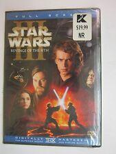 Star Wars Episode III: Revenge of the Sith (DVD 2005 2-Disc Set Full Screen) NEW