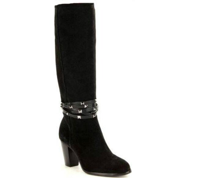 Nuevo Vestido De Gamuza Antonio Antonio Antonio Melani Binx Tachonado botas Negro Talla 7.5  170  la red entera más baja