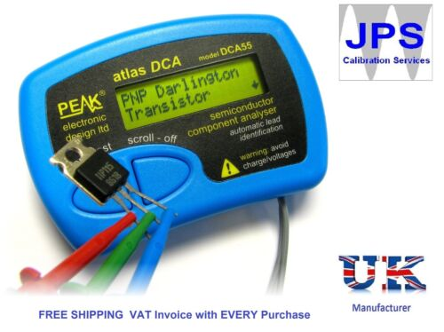 Atlas DCA-Semiconductor analizador Pico DCA55 jpst 006 factura con IVA pm6