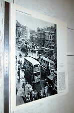 PHOTO ECOLE 1960 GEOGRAPHIE ANGLETERRE PICCADILLY CIRCUS LONDON LONDRES BUS