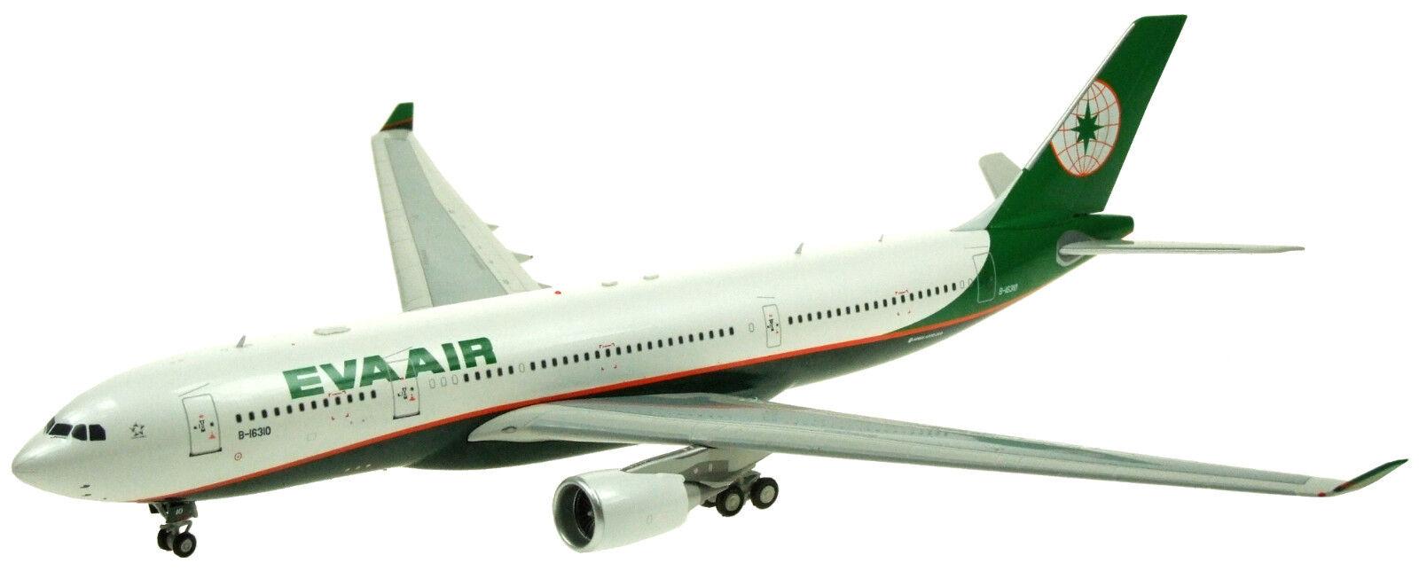 INFLIGHT 200 IF332EVA001 1/200 EVA AIR AIRBUS A330-200 B-16310 con con con supporto 2310e3