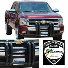 Go Industries 32738 Quad Guard Push Bumper Black for 2007-2013 GMC Sierra 1500