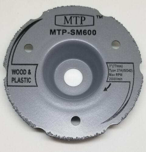 "6 Assort 3/"" Wood Plastic Metal Tile Cutting Wheel For Dremel  SM600 Saw Max"