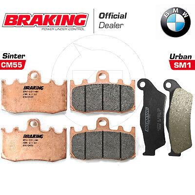 PASTIGLIE BREMBO 07BB26SA ANTERIORI POSTERIORI PER BMW R 1200 GS ADVENTURE 2008