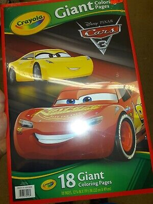 CARS 3 GIANT CRAYOLA COLORING PAGES 71662301262 | eBay