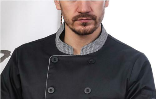 New Men Women chef kitchen clothes Jacket chef uniforms overalls chef with Apron