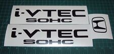 I Vtech SOHC Jdm Decal Set of 3 Mugen JDM Spoon Honda Civic Accord Prelude CRX