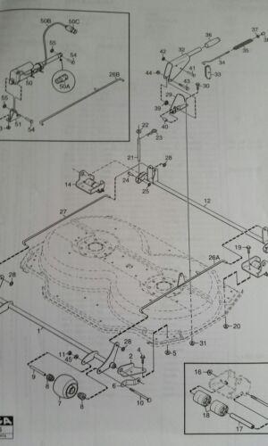 STIGA RIDE-ON LAWNMOWER 85 95 105 COMBI DECK FRONT ROLLER WHEEL 1134-4284-01