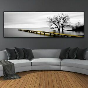 Wall Art Abstract Rectangle Canvas Oil Painting Modern Living Room Decoration Ebay