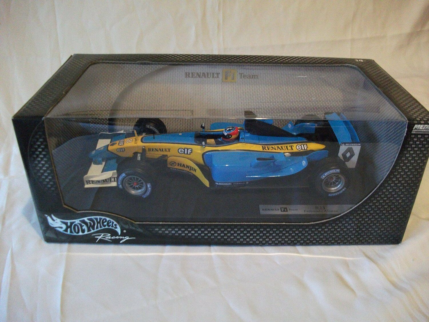 Renault R23 F. Alonso scale 1:18 Hotwheels NEW !!