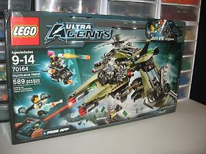 New Lego Ultra Agents Set 70164 Hurricane Heist Sealed in Box 4 Minifigs