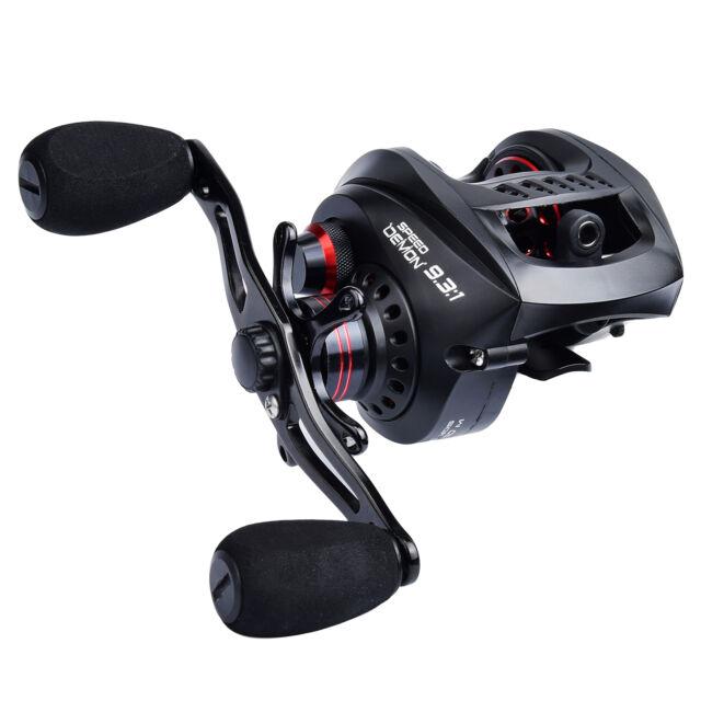 kastking speed demon baitcasting fishing reel 9 3 1 worlds fastest