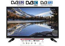 """20"""" LED TV 50 cm 20E2000ST2 HD Fernseher, DVB-S2/-C/-T2, HDMI, EEK A, 12V & 220V"""