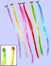 😊 30 bunte Haarsträhnen 5 x 6 Stück Kindergeburtstag Mitgebsel Party Karneval