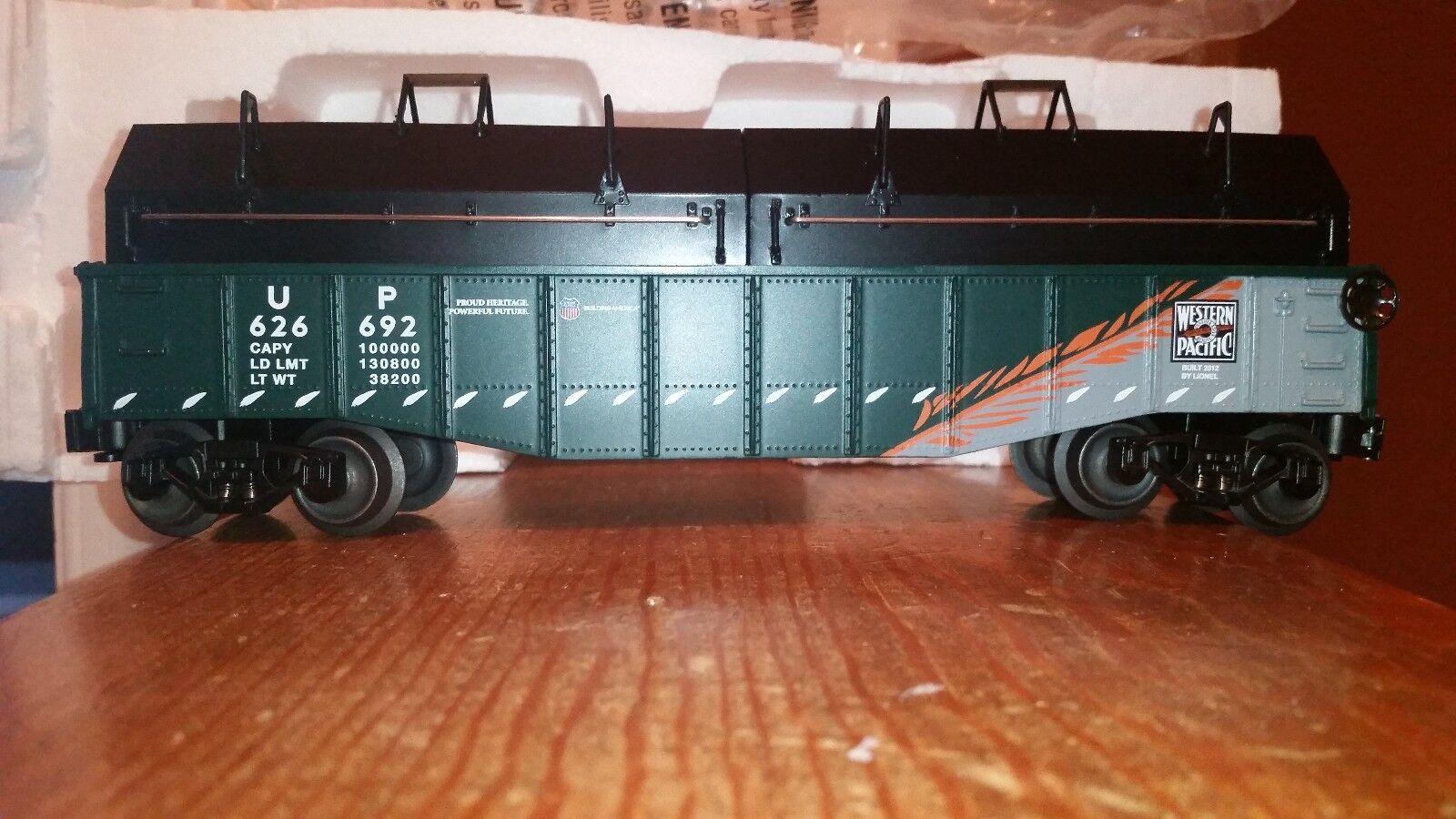 2012 Lionel Union Pacific Gondola W Removable Covers,  6-30188G, 0 027, NIB-Min