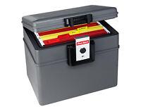 First Alert 2037fe Dokumentenbox 17,6 Liter Feuerfeste Wasserdichte Kassette Neu