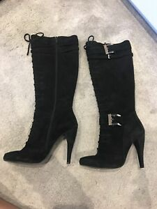 From High Dune Black 6 Size Heeled Boots wtFaSqda