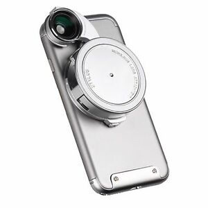 ZTYLUS CORE EDITION REVOLVER LENS CAMERA KIT FOR IPHONE 7: FISHEYE, WIDE ANGLE