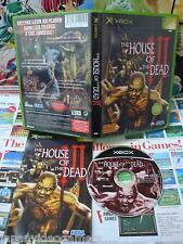 Xbox:The House of the Dead III [TOP SEGA & 1ERE EDITION] COMPLET - Fr