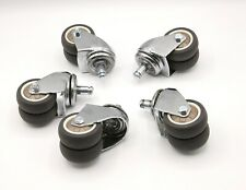 2 Inch Office Chair Wheels Set Of 5 With Standard Stem Size