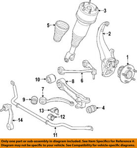 jaguar oem 06 09 xj8 front suspension air spring c2c41339 ebayimage is loading jaguar oem 06 09 xj8 front suspension air