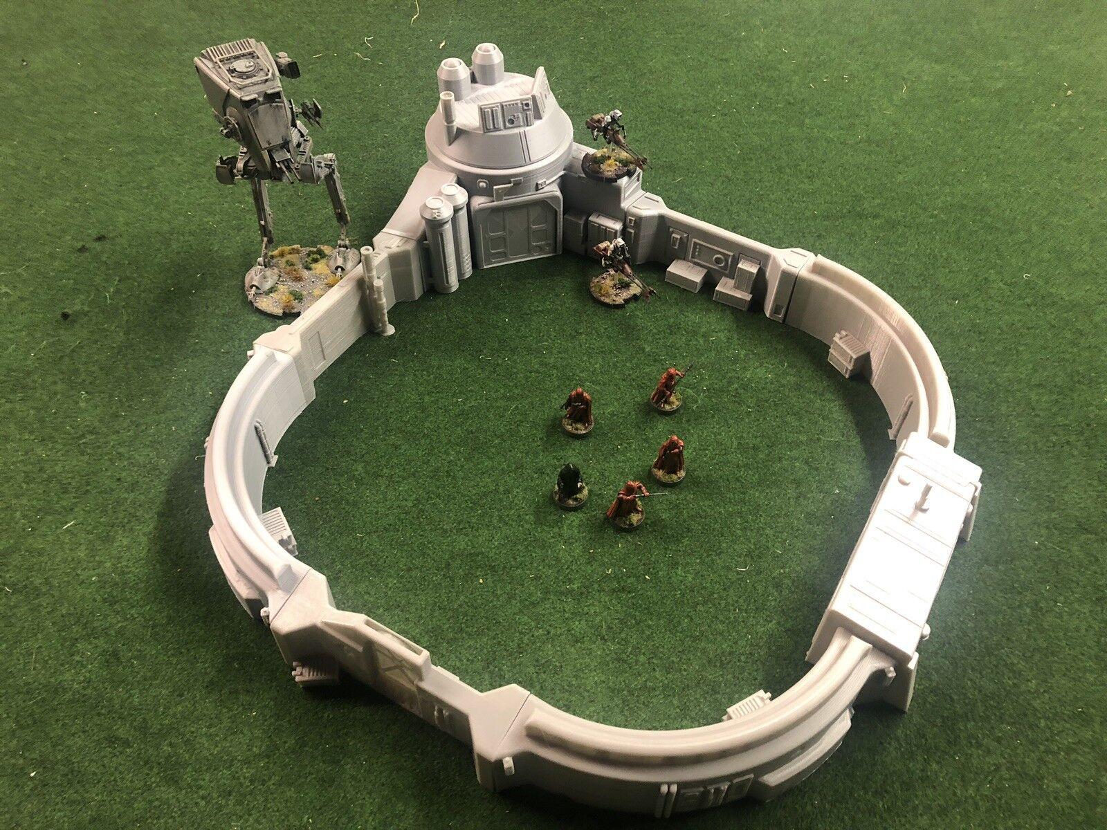 Star Wars legion 40k Infinity Compatible Terrain - Landing bay