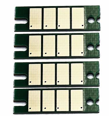 4 x Toner Chip for Ricoh Aficio SP C220 C221 C222 C240dn C240SF 406159 406047//8
