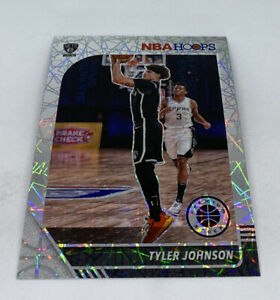 TYLER JOHNSON 2019-20 NBA HOOPS PREMIUM STOCK #155 LASER PRIZM
