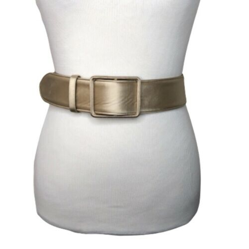 Giorgio Armani Belt Silk Leather Sz 40 US 28 S Wid