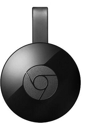 Google Chromecast 2nd GEN Media Streaming Player Black Google India Warranty NEW