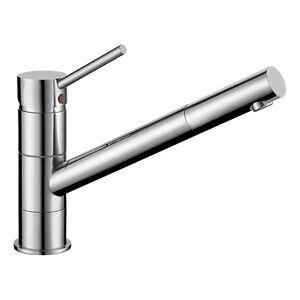 Details zu Spülbecken Armatur Wasserkran Küche Auslauf vorne Drehbar Spüle  Mischbatterie