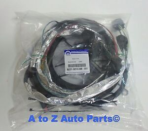 NEW 2007-2018 Jeep Wrangler JK 7-PIN Trailer Tow Wiring Harness, OEM Mopar  | eBay | Wrangler 7 Pin Wiring Harness |  | eBay