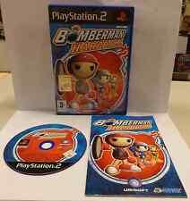 Gioco Game SONY Playstation 2 PS2 Play Station PAL BOMBERMAN HARDBALL Hudson
