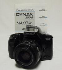 MINOLTA Maxxum 300si 35mm SLR Film Camera w/35-70mm AF Len Student Photography