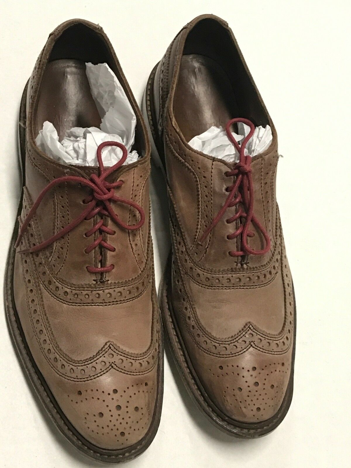 ALLEN Neumok EDMONDS Neumok ALLEN Sz 11 D Wingtip Shoes a017d4
