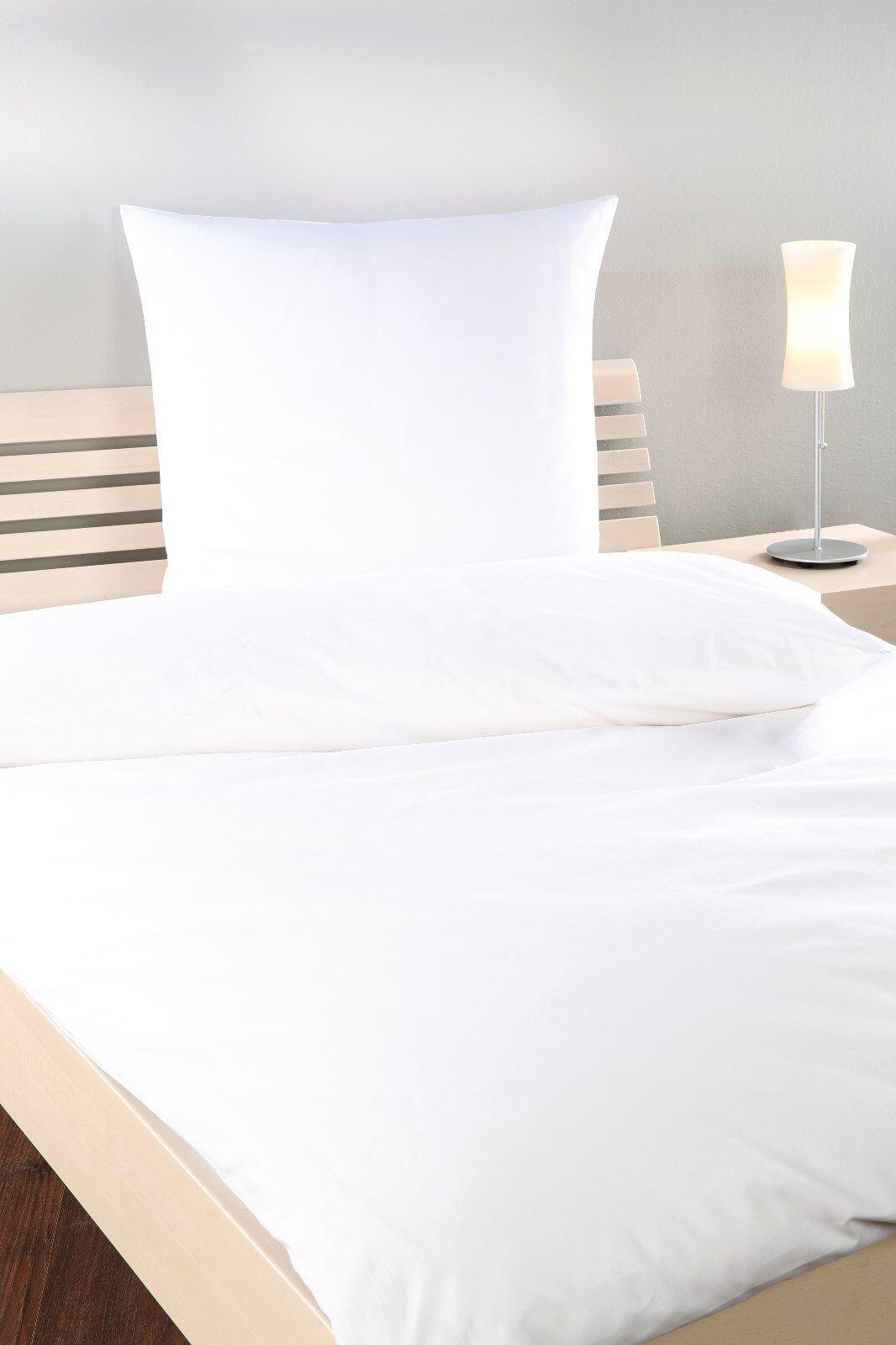 2-100x Spannbettlaken 90-100x200 cm weiß 165g m² Bettlaken Jersey Hotel