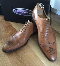 Oliver Sweeney Men's Twister Handmade Italian Formal Shoes UK 9 Eu 43 Rrp £349