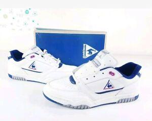 LE-COQ-SPORTIF-Baskets-Yannick-Noah-club-Annees-80-Vintage-UK-9-US9-5-EU43-1-3