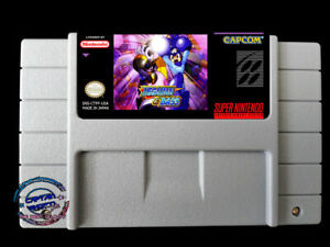 Mega Man & Bass SNES USA version megaman rockman forte game English