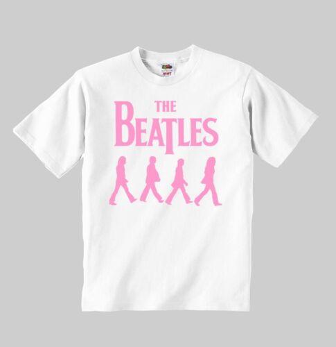 the beatles pink t-shirt shirt toddler clothing Boys Girls Children T-Shirt