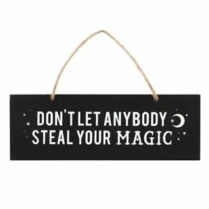 Don-039-t-Let-Anyone-Steal-Your-Magic-Wooden-Hanging-Wall-Sign-Occult-Supernatural