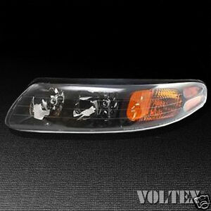 Image Is Loading 2000 2004 Pontiac Bonneville Headlight Lamp Clear Lens