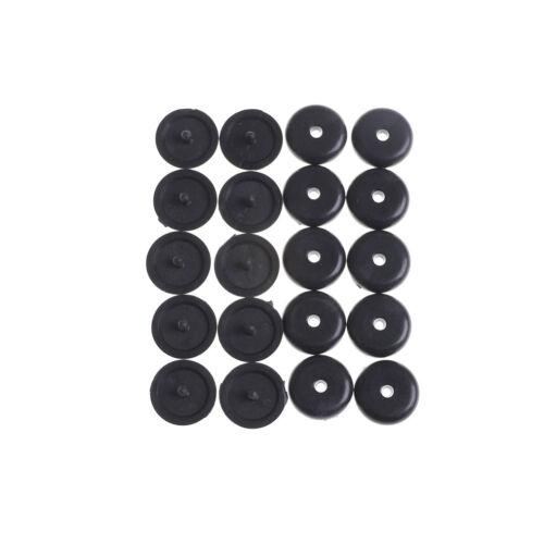 10×Universal Clip Seat Belt Stopper Buckle Button Fastener Safety Black FG