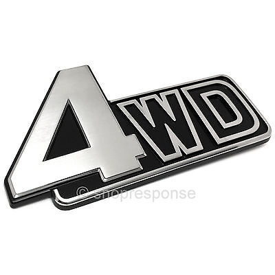 OEM Toyota Rear Tailgate 4x4 Emblem Badge 15-17 Tacoma 07-17 Tundra 754730C030