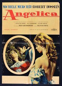 Werbeplakat Angelica Borderie Michele Mercier Robert Hossein Rochefort S06