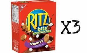 3 X boxes of RITZ SMORES Chocolate Sandwiches - CANADA 180gx3 Purchased Fresh